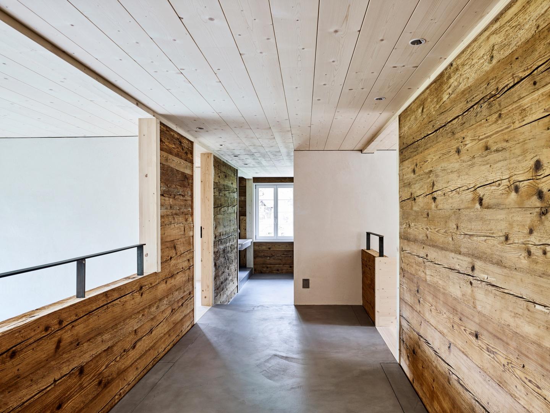 Gang Obergeschoss © Mark Niedermann, Mühlestiegstrasse 28, 4125 Riehen