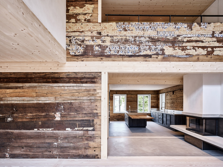 Doppelgeschossiger Innenraum © Mark Niedermann, Mühlestiegstrasse 28, 4125 Riehen