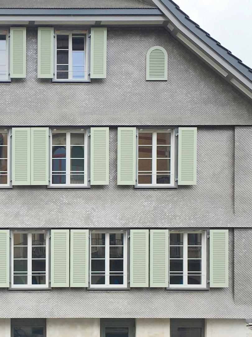 Strassenfassade  © Diego Zanghi, Binzstrasse 39, 8045 Zürich