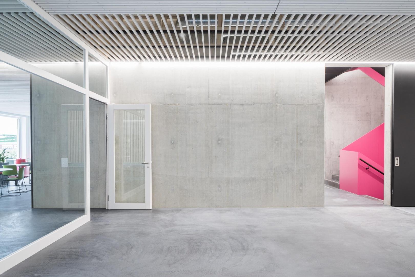 Eingang Bürogebäude 3-Plan © Architektur: Bob Gysin Partner, Zürich; Fotografie: Dominique Marc Wehrli, Winterthur