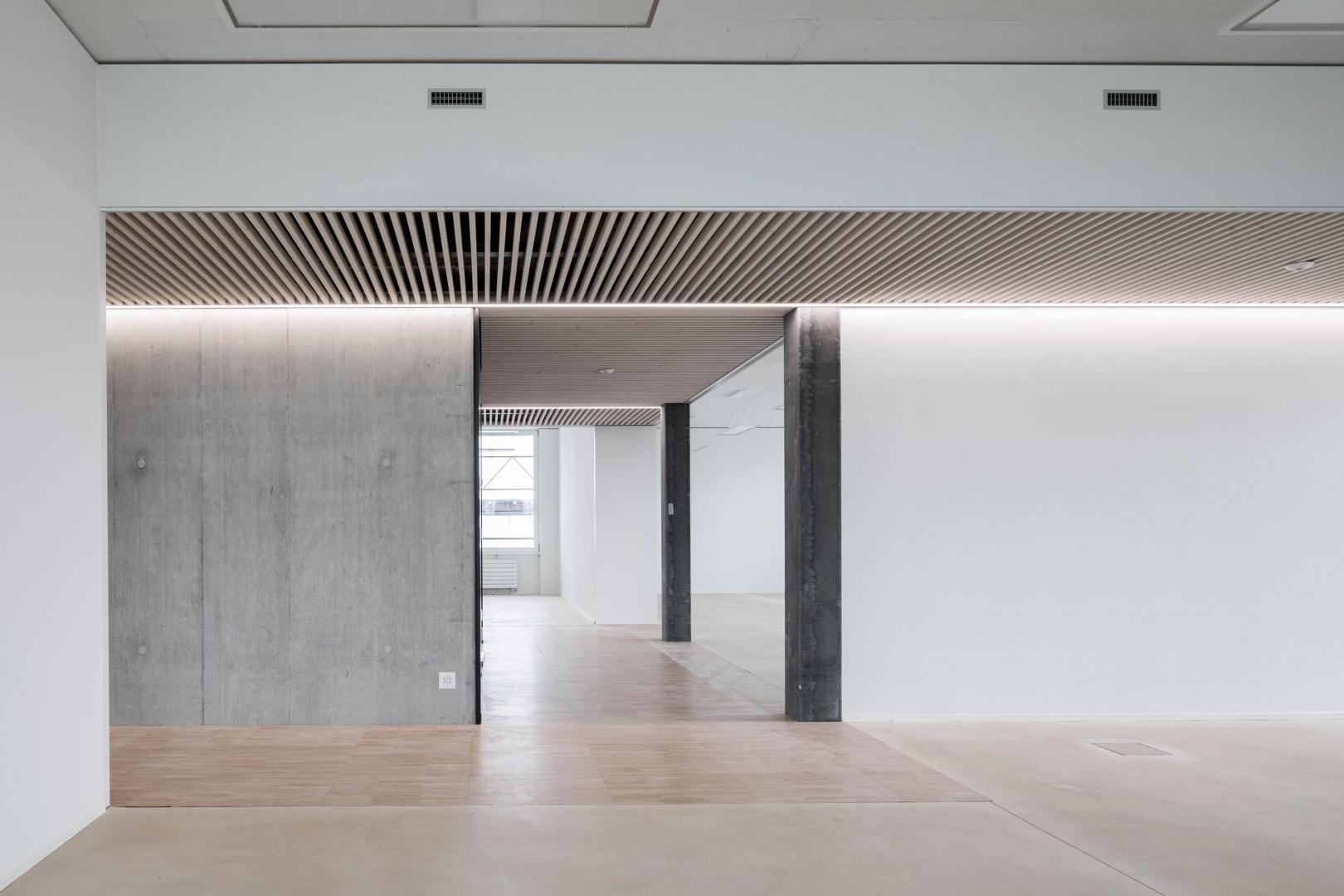 Innenraum Bürogebäude 3-Plan © Architektur: Bob Gysin Partner, Zürich; Fotografie: Dominique Marc Wehrli, Winterthur