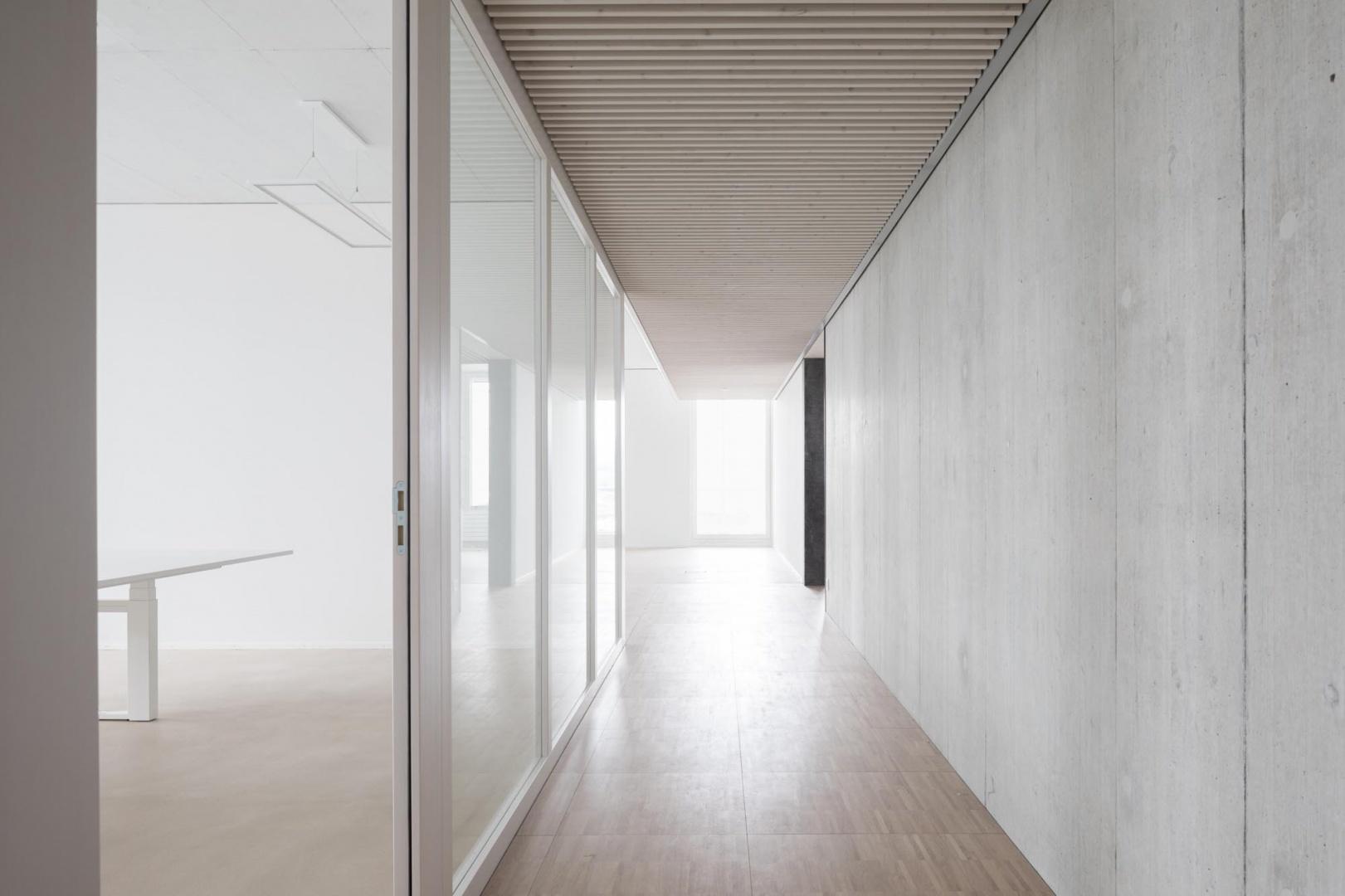 Korridor Bürogebäude 3-Plan © Architektur: Bob Gysin Partner, Zürich; Fotografie: Dominique Marc Wehrli, Winterthur