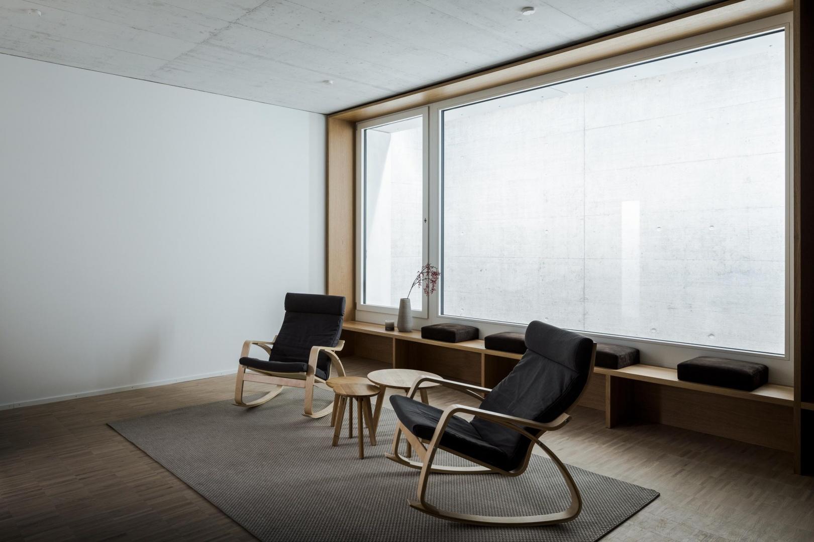 Ruheraum Bürogebäude 3-Plan © Architektur: Bob Gysin Partner, Zürich; Fotografie: Dominique Marc Wehrli, Winterthur