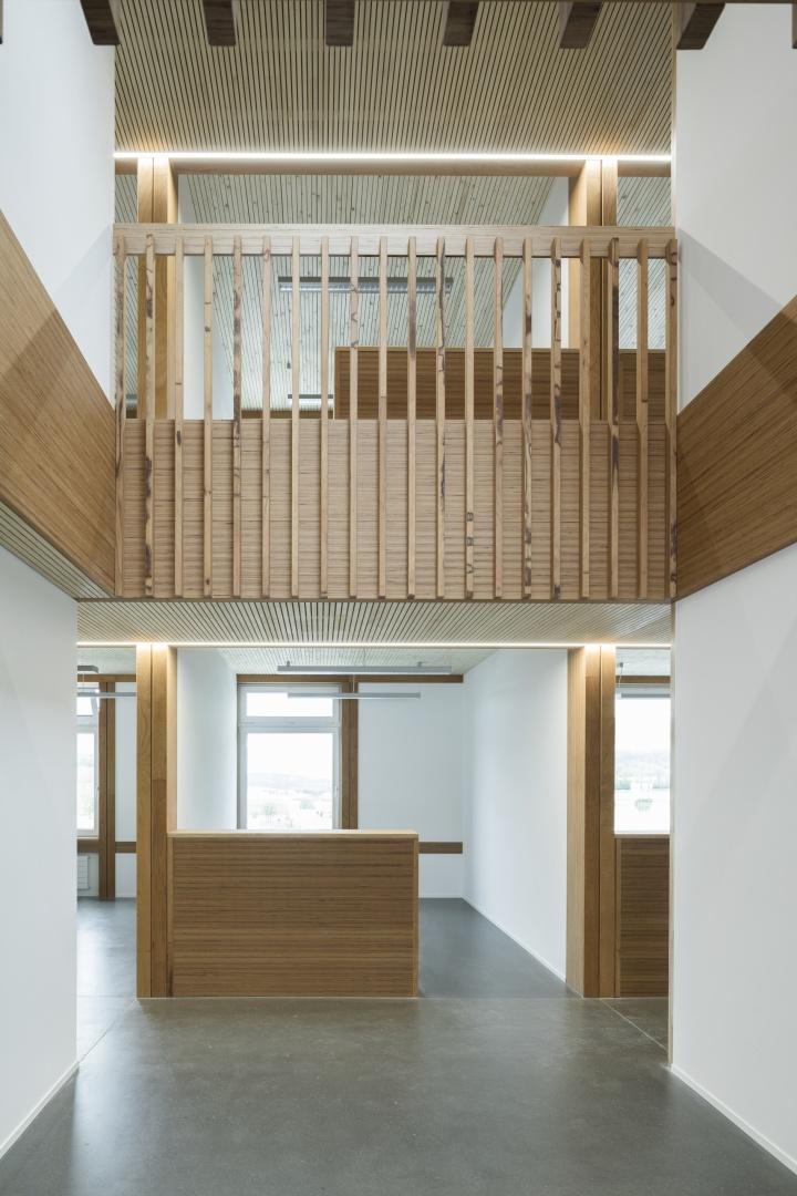 Innenraum Bürogebäude Baltensperger © Architektur: Bob Gysin Partner, Zürich; Fotografie: Dominique Marc Wehrli, Winterthur