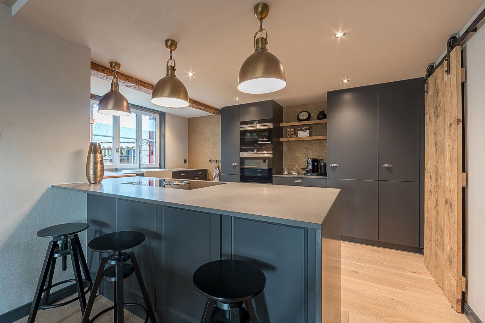 Küche Ansicht EG © Dever GmbH, Le-Corbusier-Platz 6, 3027 Bern