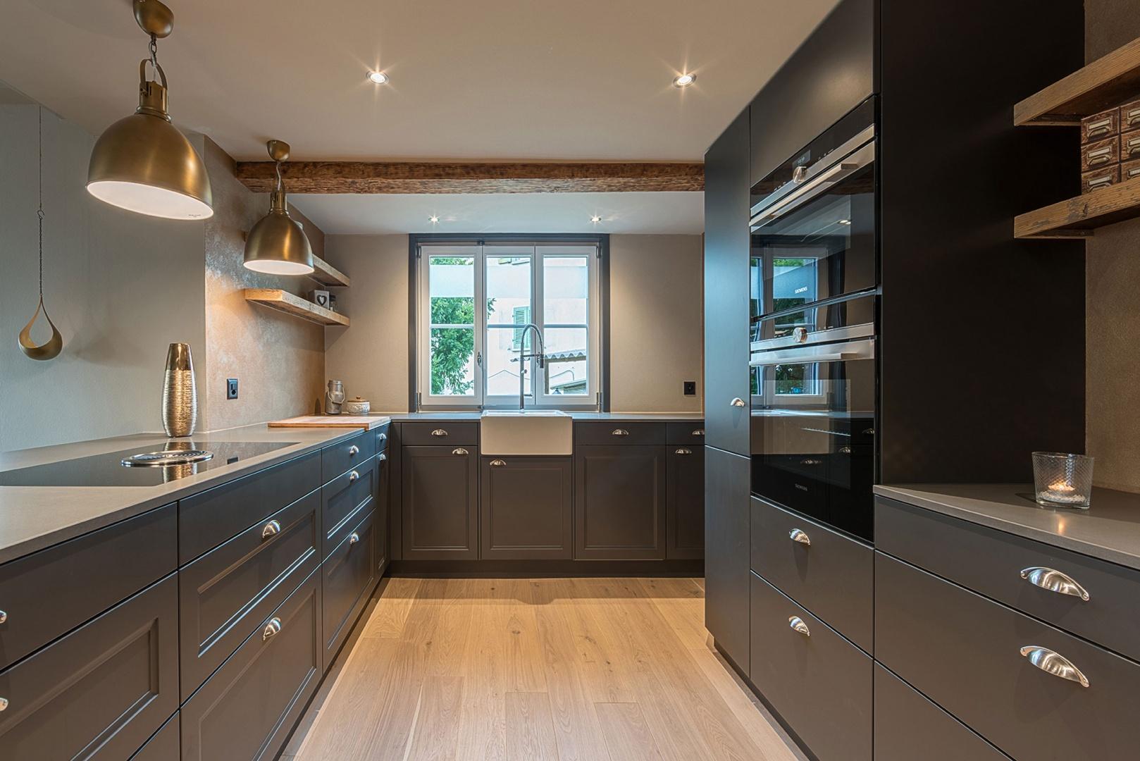 Küche Einsicht EG © Dever GmbH, Le-Corbusier-Platz 6, 3027 Bern