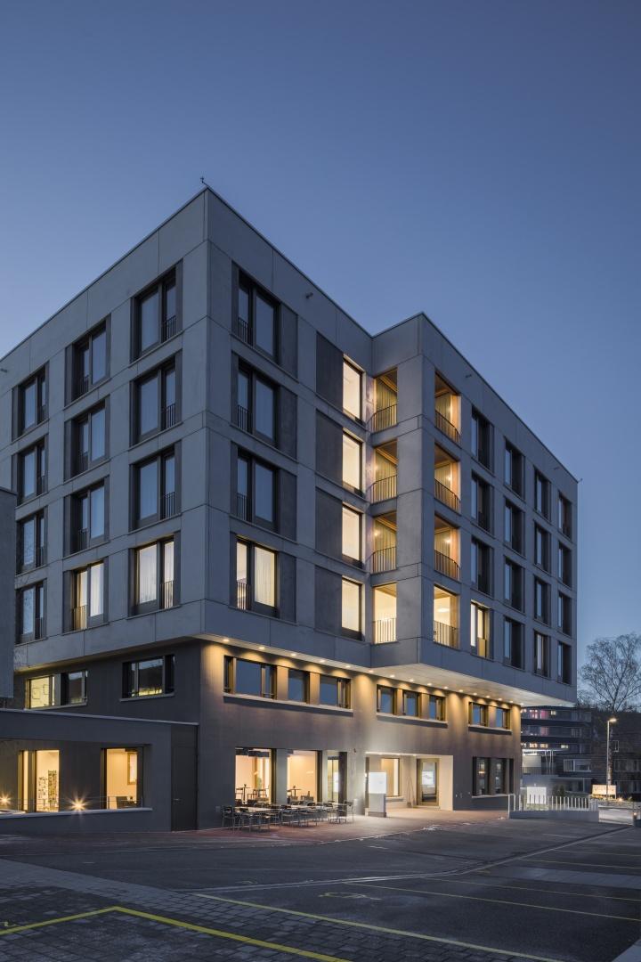 Erweiterung gesundheitszentrum dielsdorf schweizer baudokumentation - Bob gysin partner bgp architekten ...