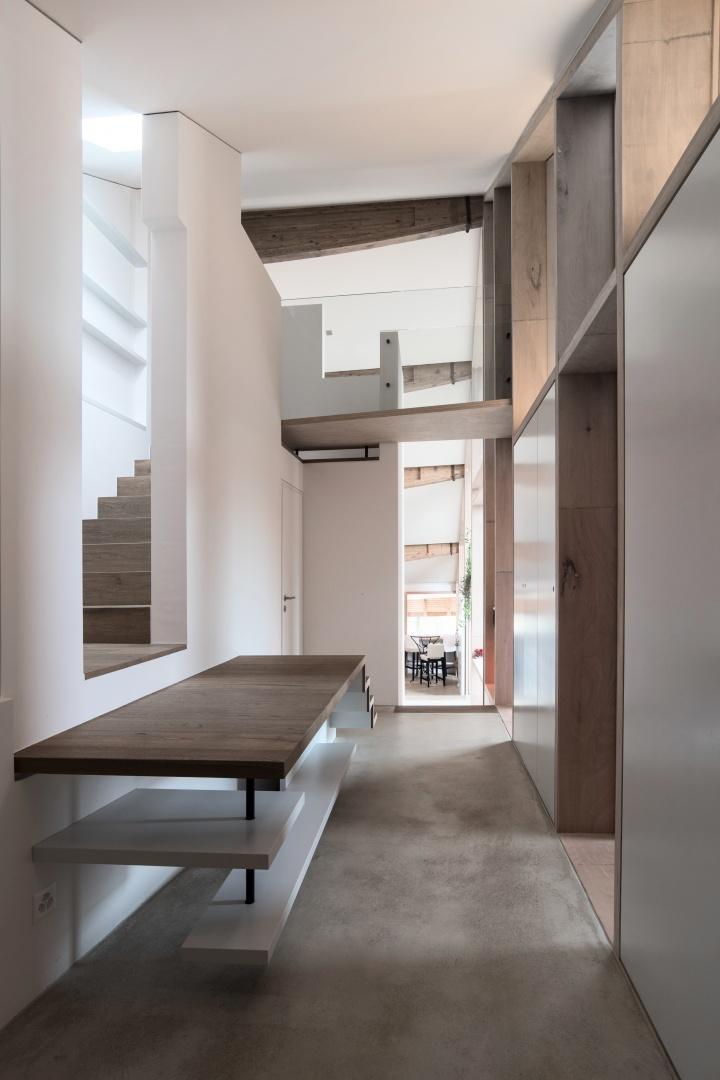 Gang 2. Etage © Samuel Nugues, Mangeat-Wahlen Architectes Associés