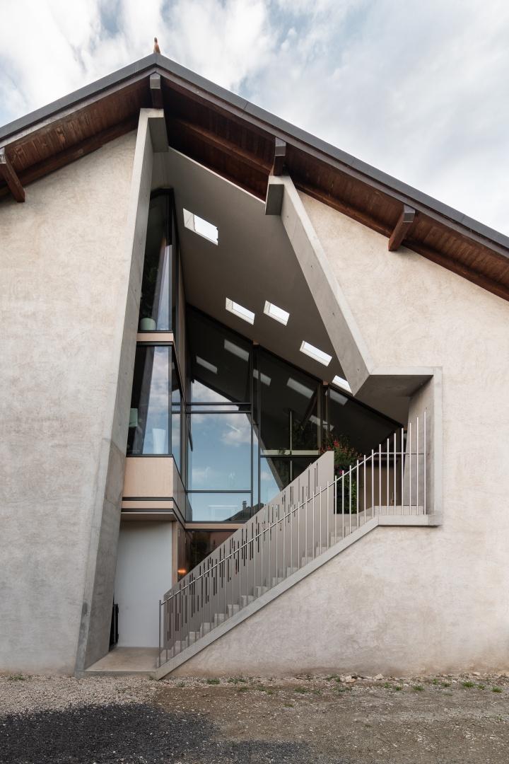 Gartenfassade © Samuel Nugues, Mangeat-Wahlen Architectes Associés