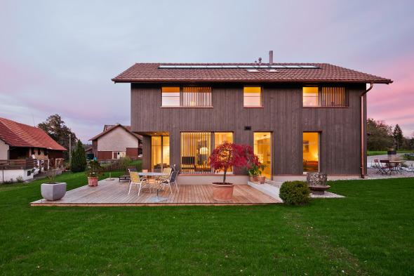 Westfassade © Giesser Architektur + Planung