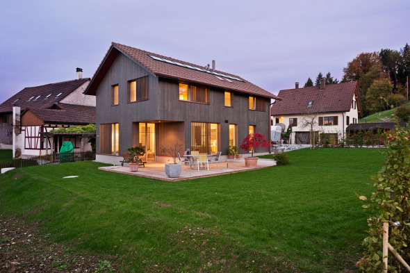 Nordfassade / Westfassade © Giesser Architektur + Planung