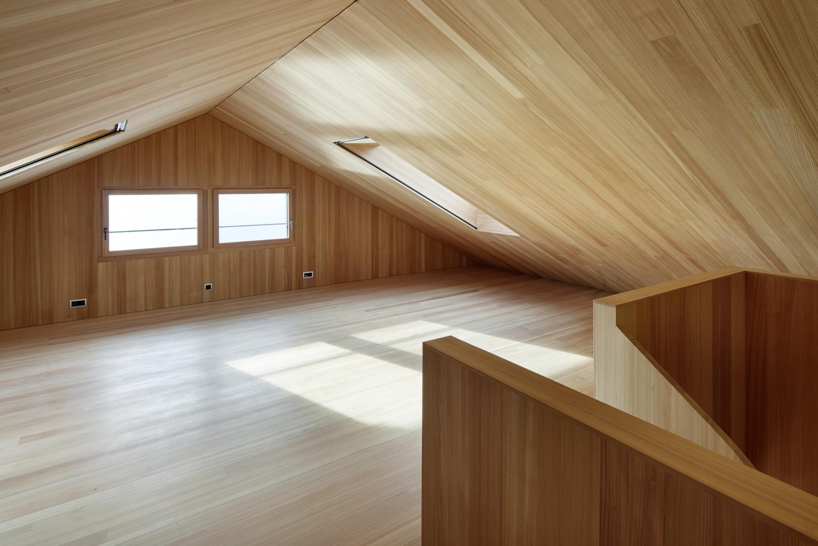 Dachraum © Beat Brechbühl