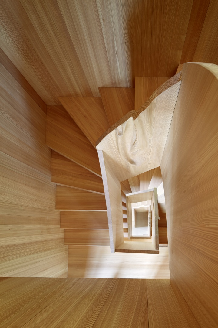 Treppenraum © Beat Brechbühl