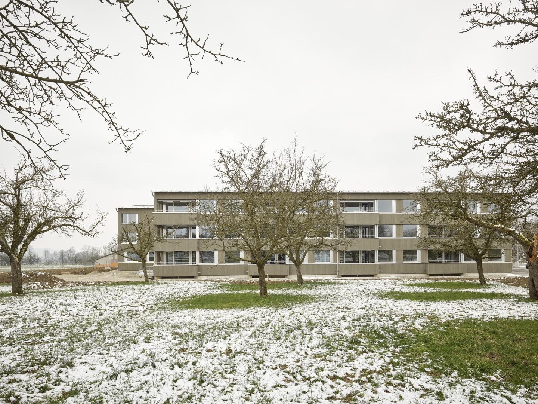 Aussenbild Ostfassade © Antoniol + Huber + Partner, Zürcherstrasse 125, 8500 Frauenfeld