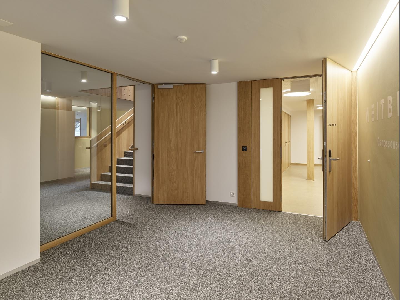 Eingang © Antoniol + Huber + Partner, Zürcherstrasse 125, 8500 Frauenfeld