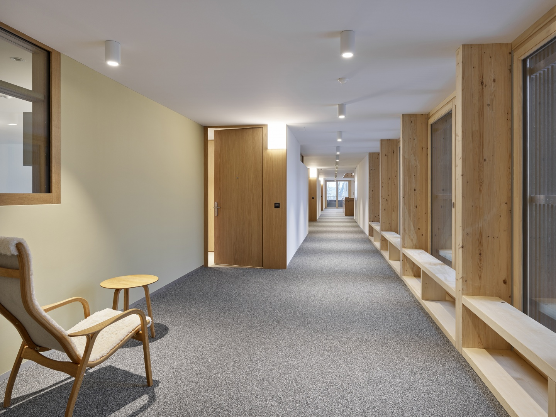 Korridor © Antoniol + Huber + Partner, Zürcherstrasse 125, 8500 Frauenfeld