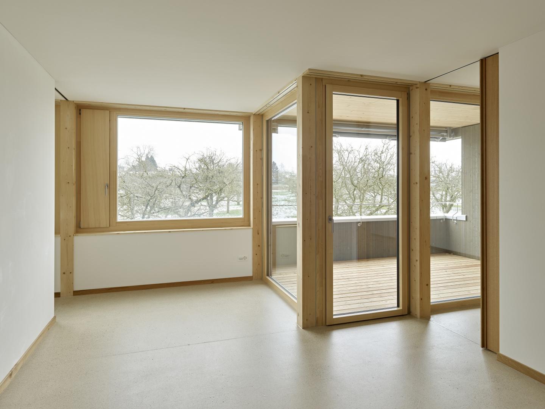 Wohnung OG01 Wohnen © Antoniol + Huber + Partner, Zürcherstrasse 125, 8500 Frauenfeld