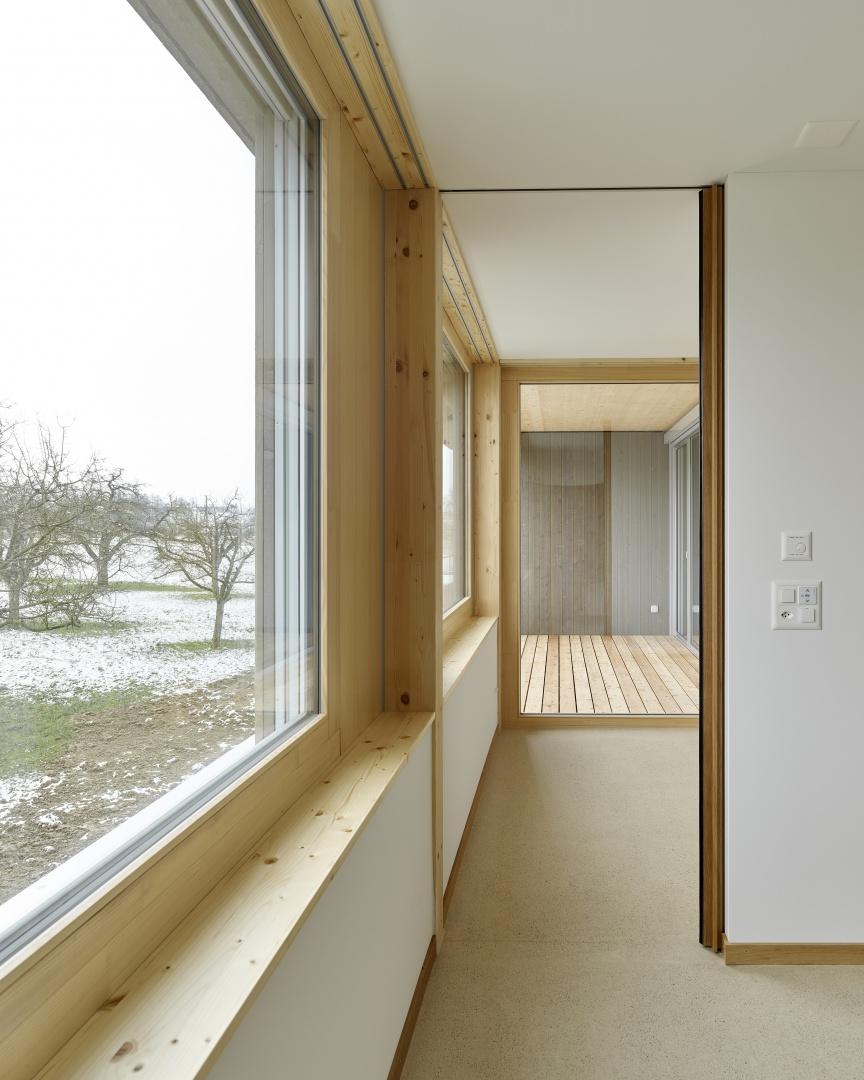 Wohnung OG01 Zimmer © Antoniol + Huber + Partner, Zürcherstrasse 125, 8500 Frauenfeld