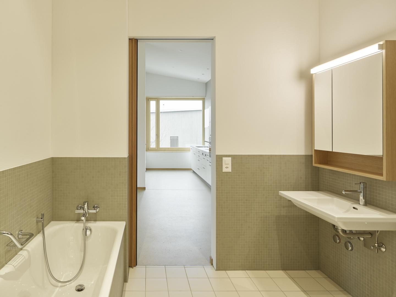 Wohnung OG02 Bad © Antoniol + Huber + Partner, Zürcherstrasse 125, 8500 Frauenfeld