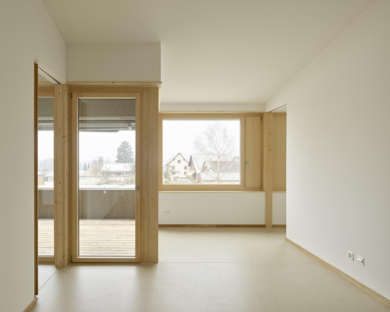 Wohnung OG02 Wohnen © Antoniol + Huber + Partner, Zürcherstrasse 125, 8500 Frauenfeld