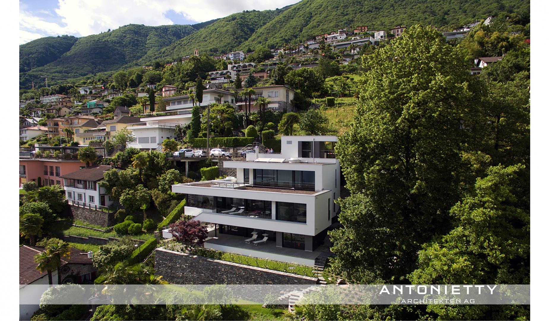 Fassade © Carlos Antonietty, Antonietty Architekten AG, Bürgenstrasse 23, 6005 Luzern