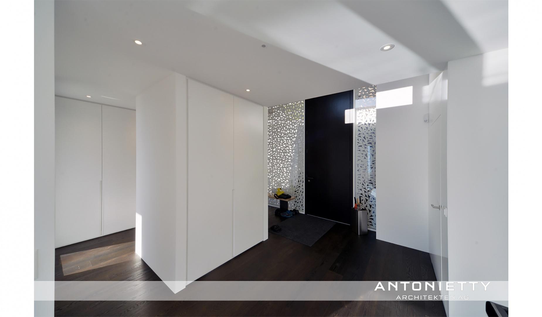 Eingangsbereich © Carlos Antonietty, Antonietty Architekten AG, Bürgenstrasse 23, 6005 Luzern