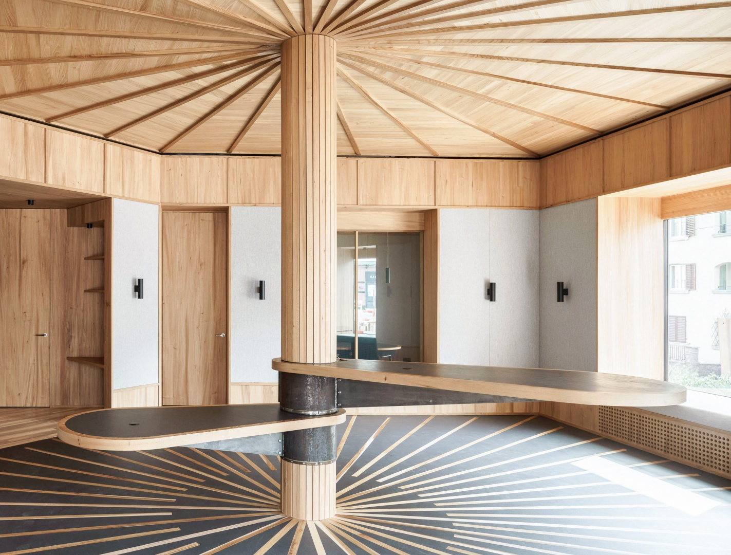 Kundenraum © Zimmer Schmidt Architekten