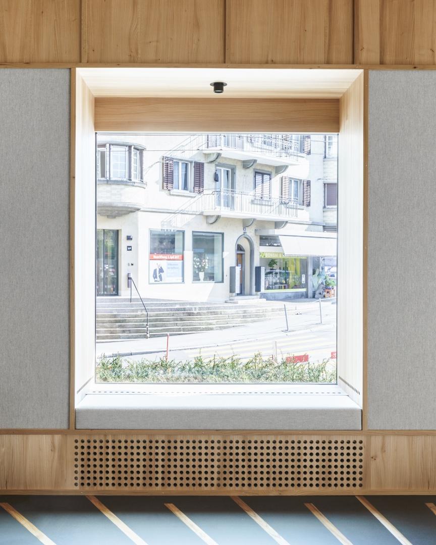 Fensternische © Zimmer Schmidt Architekten