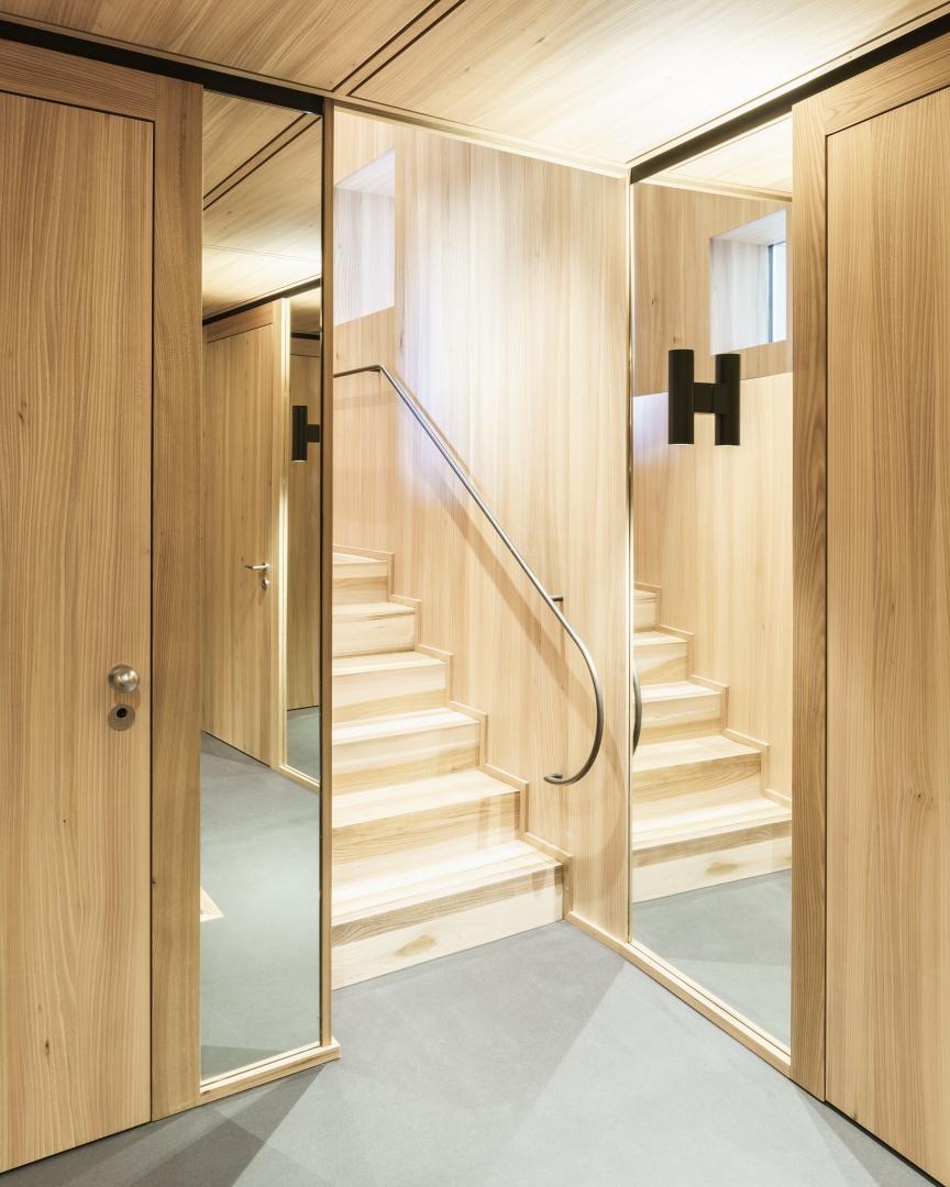 Untergeschoss © Zimmer Schmidt Architekten