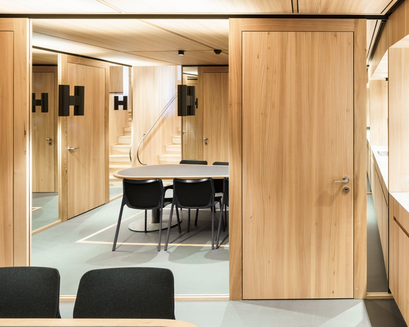 Aufenthaltsraum © Zimmer Schmidt Architekten
