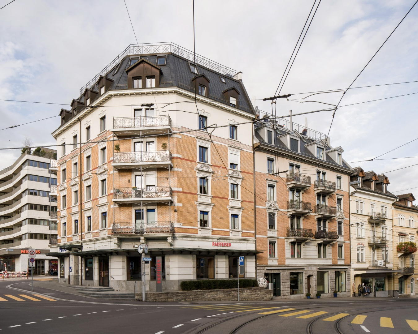 Eckhaus © Zimmer Schmidt Architekten