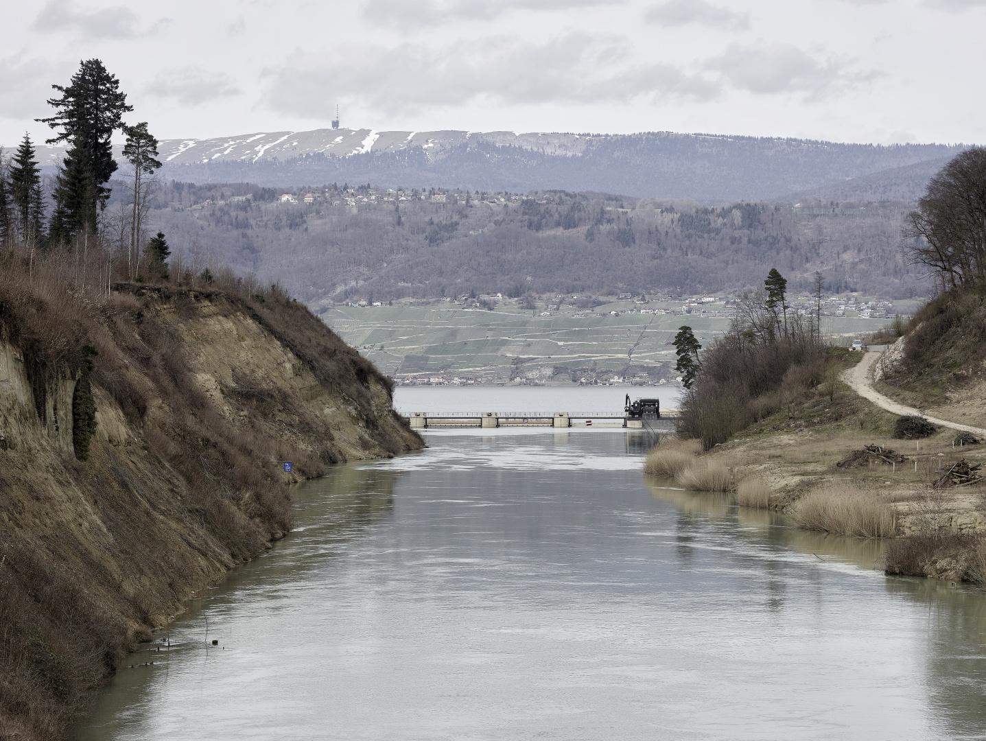 Aare Hagneck Kanal © Kuster Frey, Stirnrütistr. 15, 6048 Horw