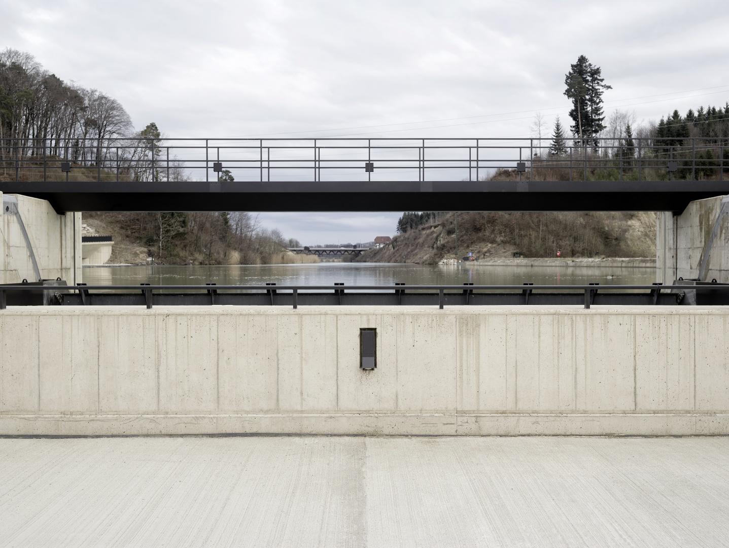 Wehrbrücke Oberwasser © Kuster Frey, Stirnrütistr. 15, 6048 Horw