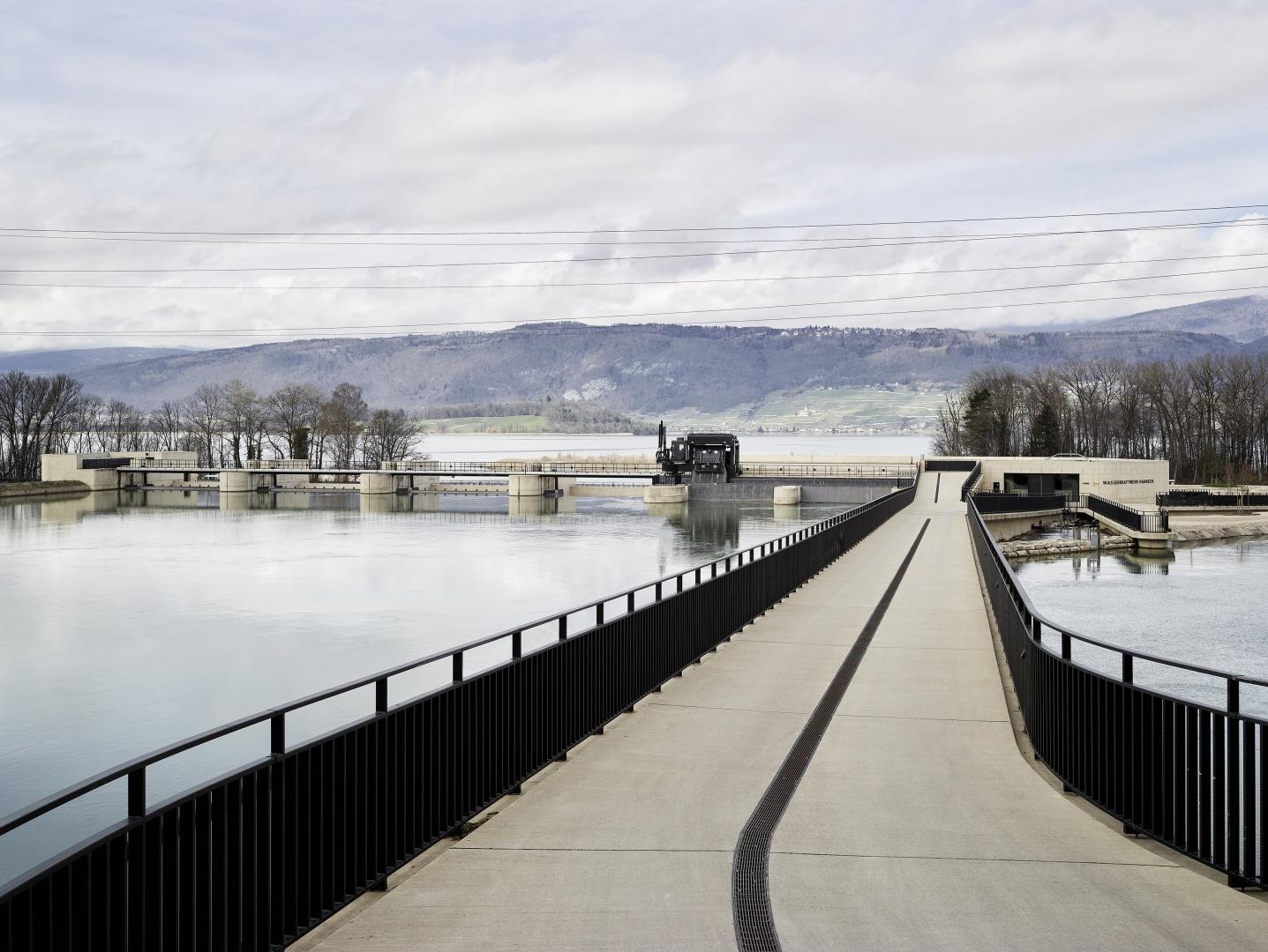 Zufahrtsbrücke © Kuster Frey, Stirnrütistr. 15, 6048 Horw
