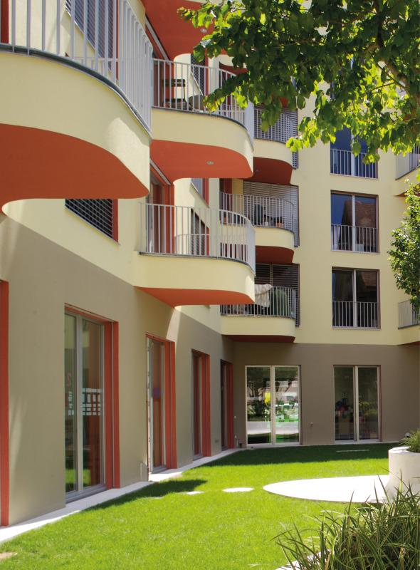 Vue façade cour / jardin © atelier ww