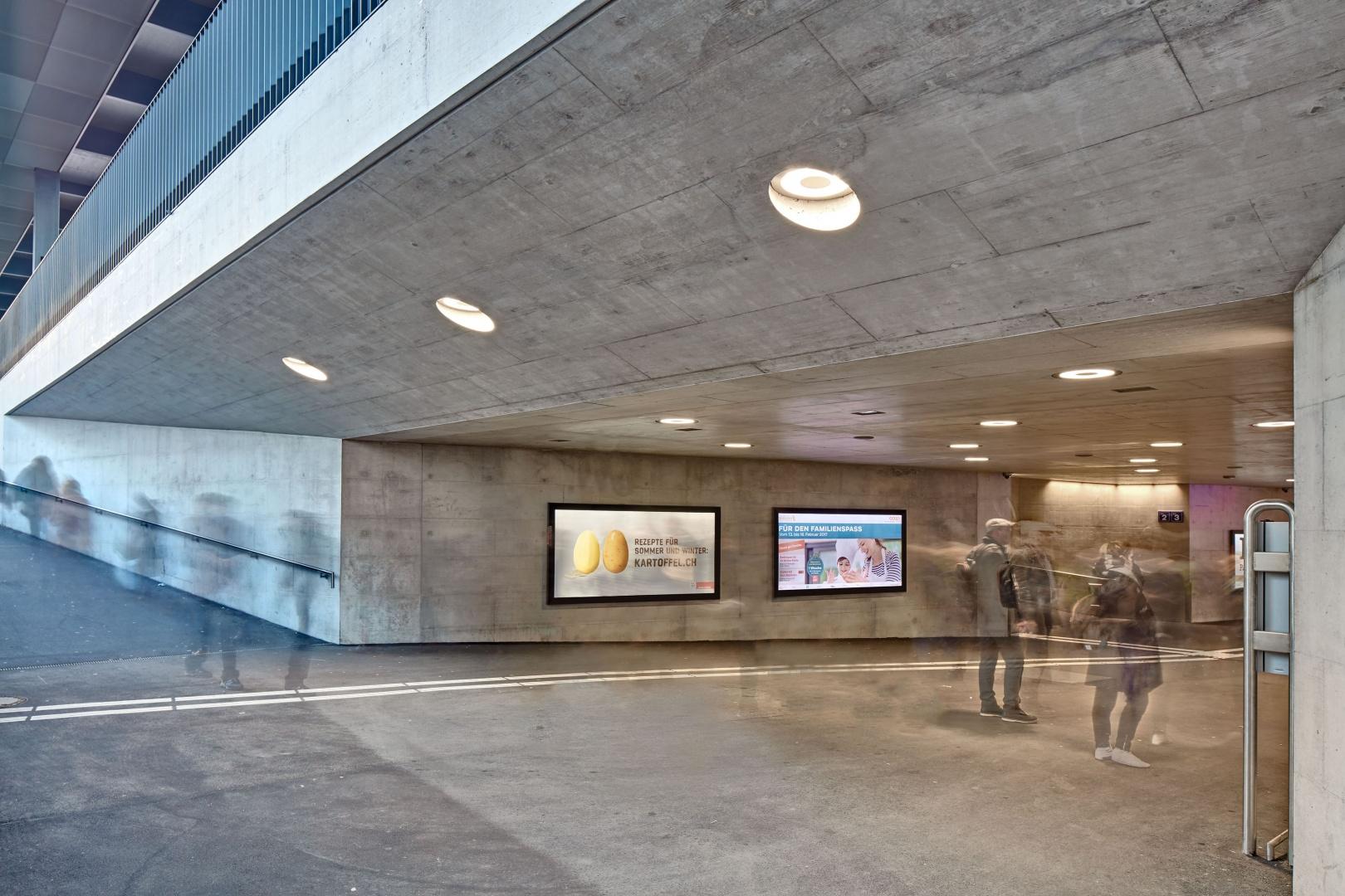 Zugang Ohmstrasse © René Dürr Architekturfotografie
