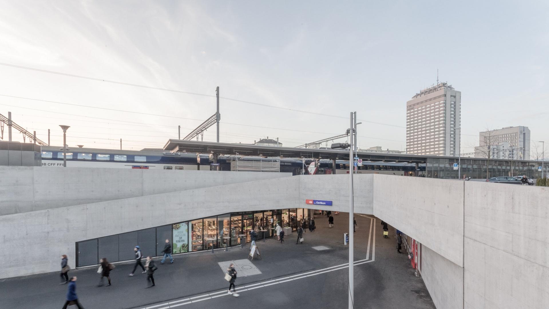 Zugang Wattstrasse © 10:8 Architekten