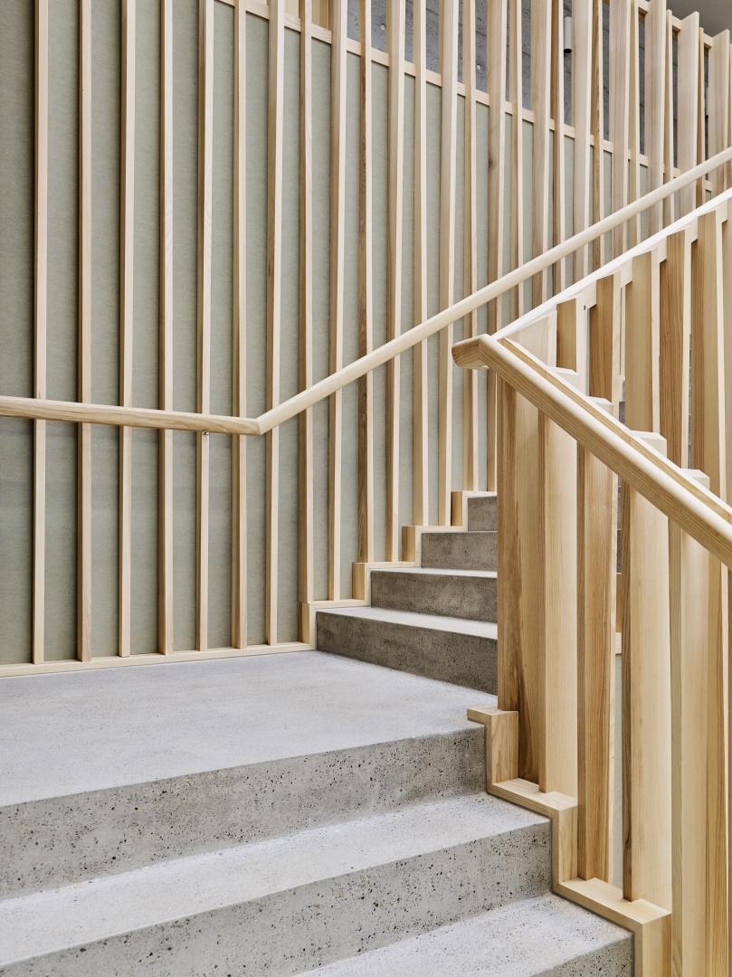 Treppe © Zimmer Schmidt Architekten