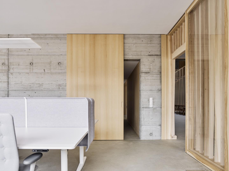 Arbeitsplätze © Zimmer Schmidt Architekten