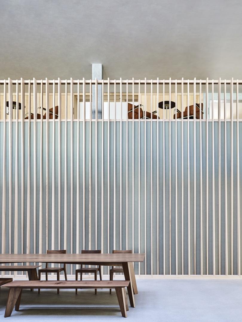 Kommunikationszone © Zimmer Schmidt Architekten
