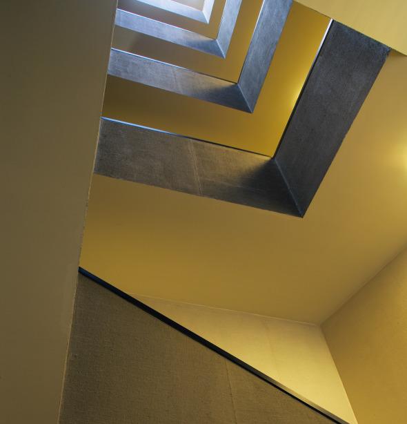 Vue cage d'escalier © atelier ww