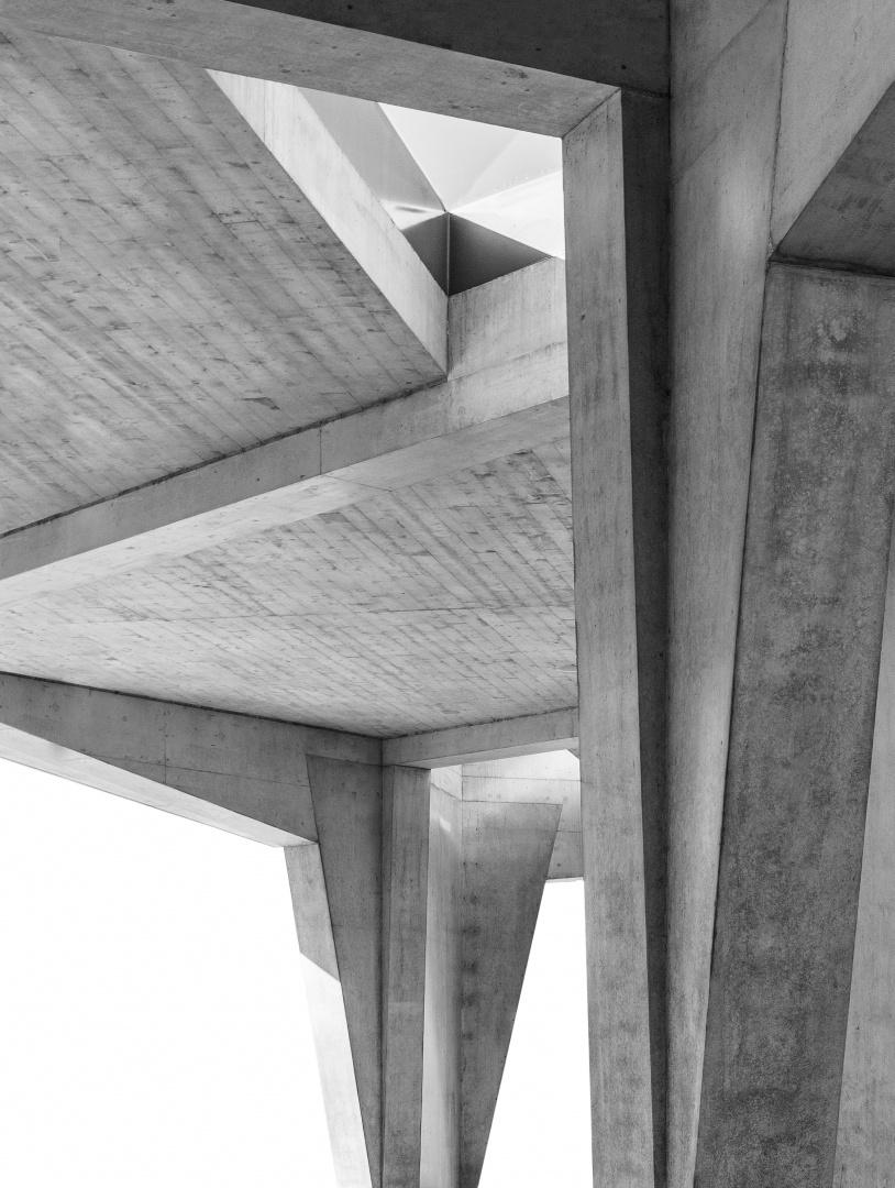 Betonskulptur © 10:8 Architekten