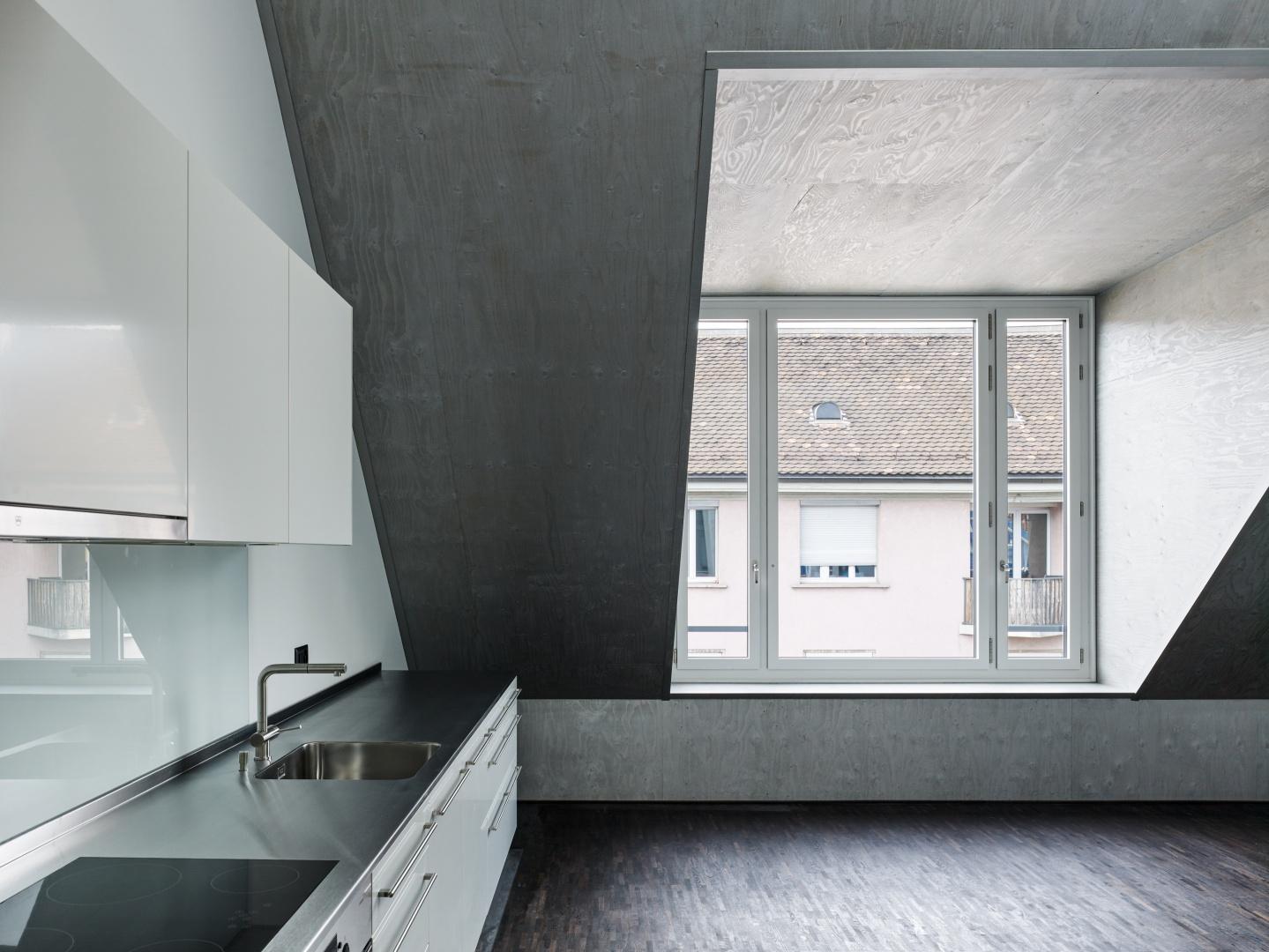 Wohnung 4.OG © Georg Aerni, Sihlquai 268. CH-8005 Zürich