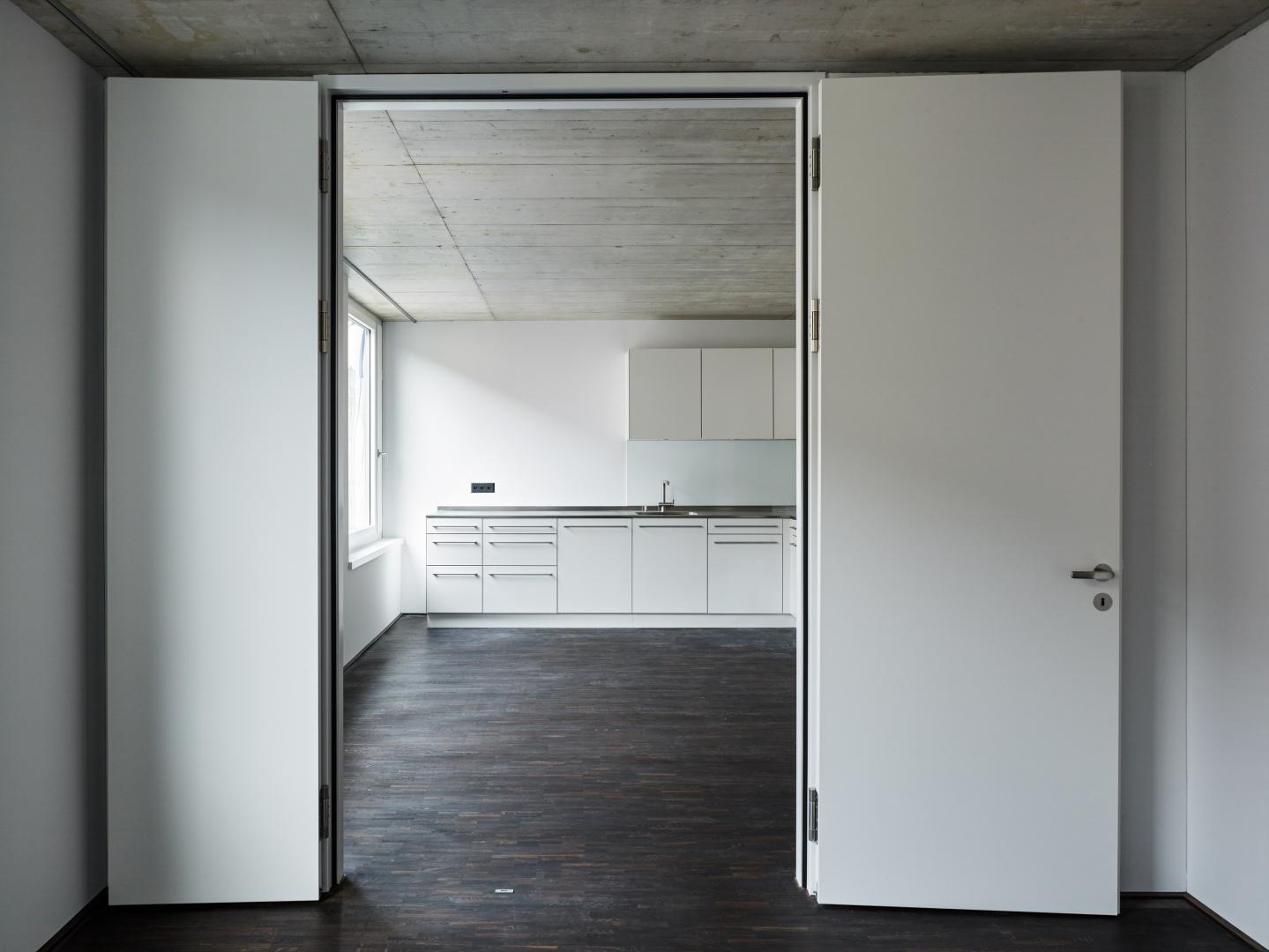 Wohnung 3.OG  © Georg Aerni, Sihlquai 268. CH-8005 Zürich