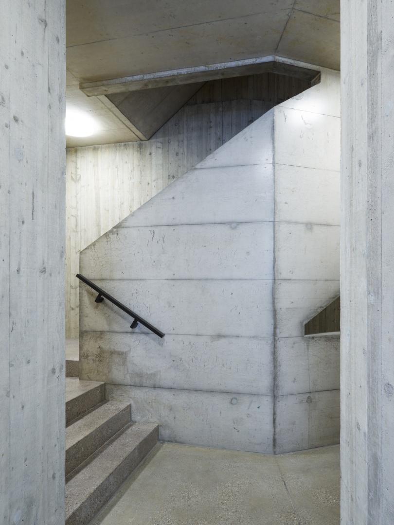 Haupttreppenhaus © Georg Aerni, Sihlquai 268. CH-8005 Zürich