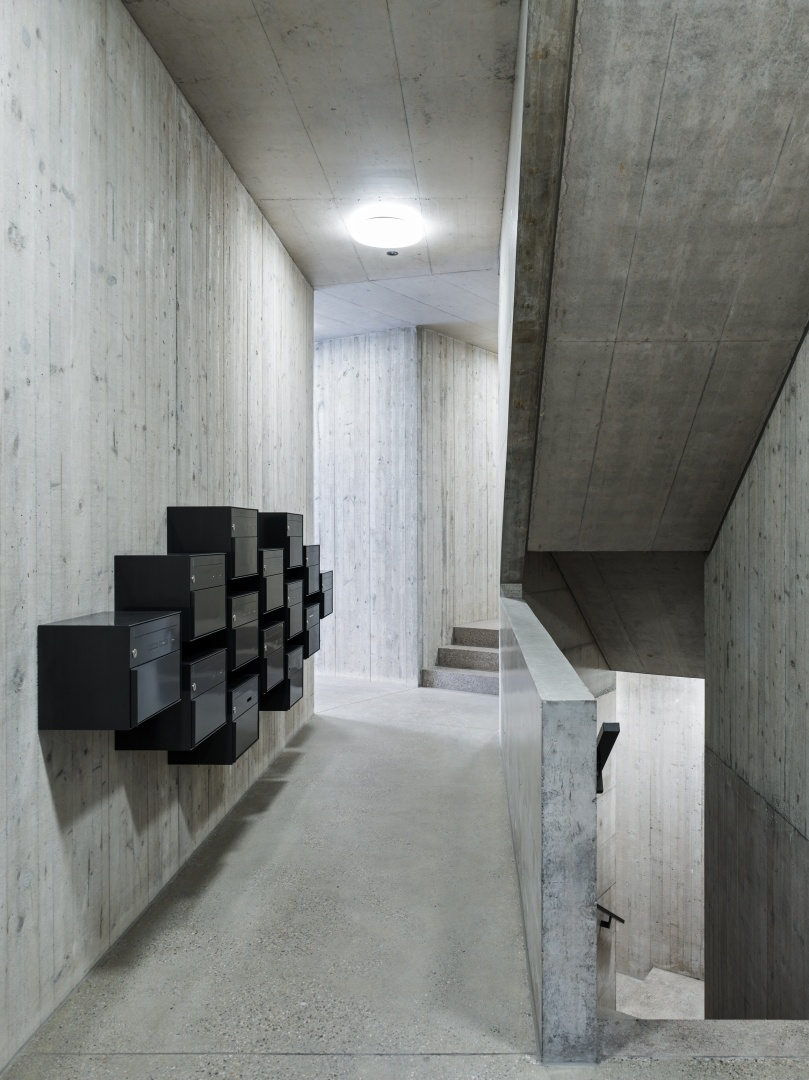 Eingangsbereich © Georg Aerni, Sihlquai 268. CH-8005 Zürich