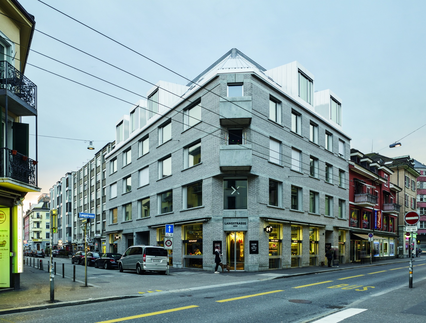 Haupteingang Hiltl Langstrasse © Georg Aerni