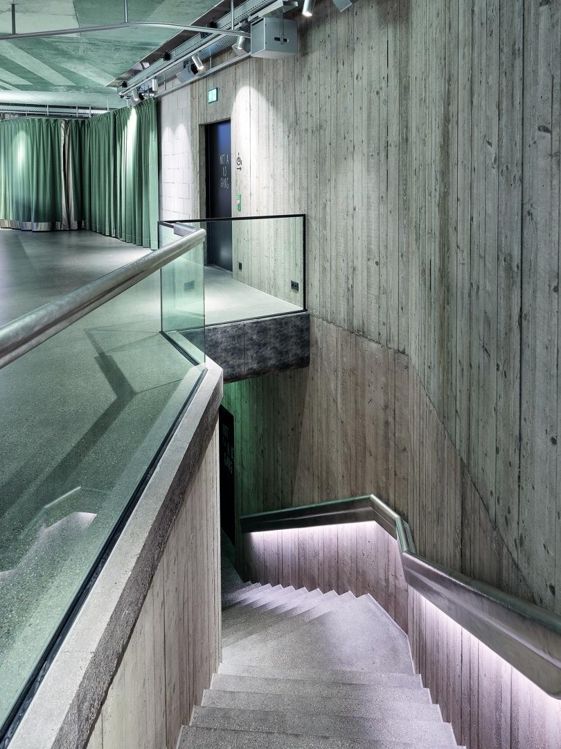 Haupttreppe Club © Kuster Frey