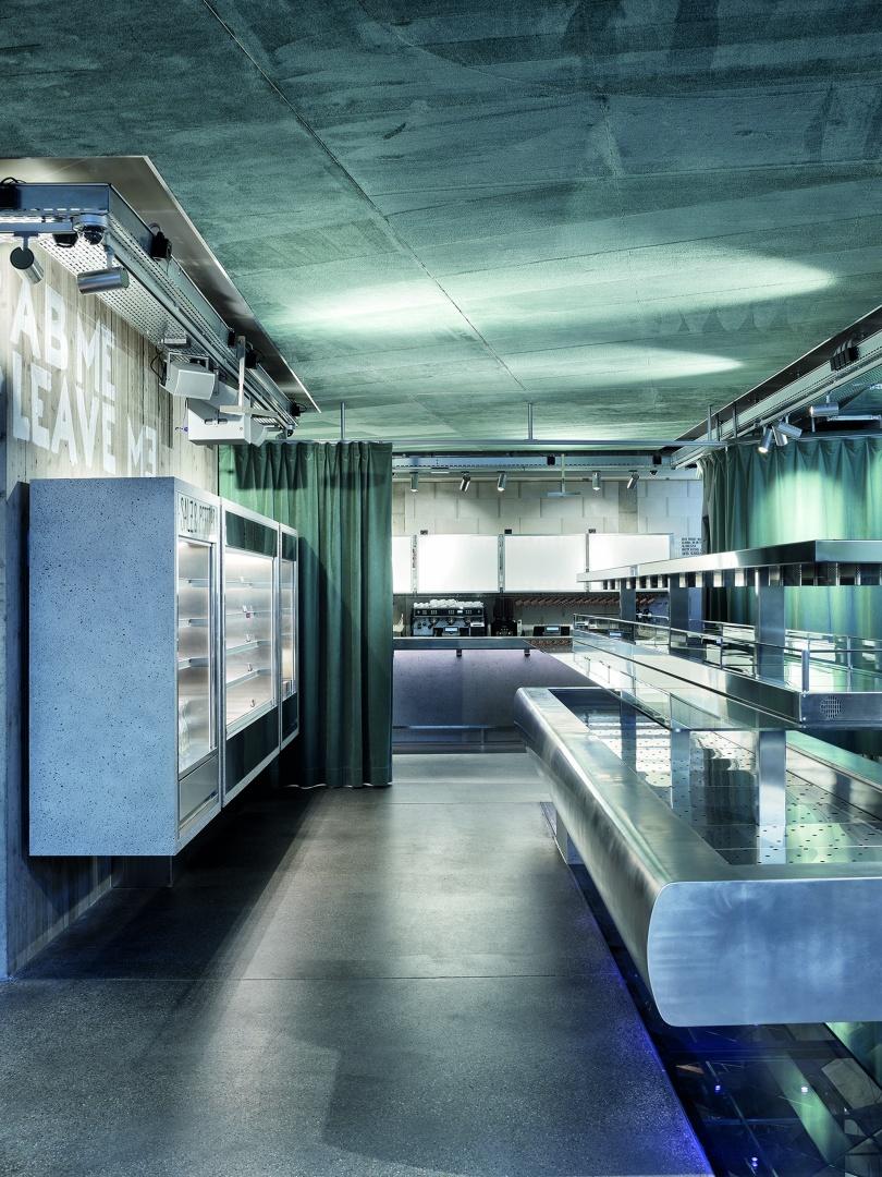 Hauptbuffet Restaurant EG © Kuster Frey