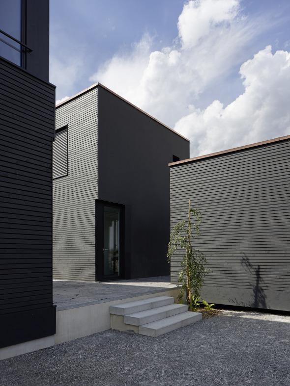 Aussenansicht © Albertin Partner Architekten GmbH